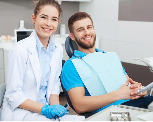 Cranbourne Dental patient